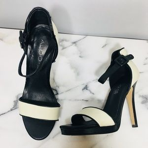 🖤ALDO Leather Stiletto Heels